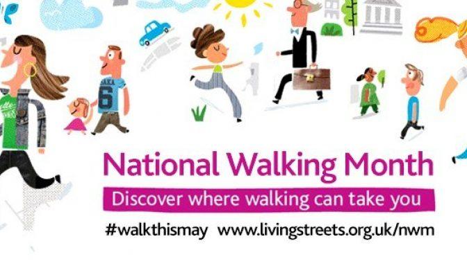 National Walking Month logo