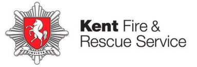 Kent Fire and Rescue logo