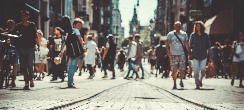Manchester pedestrian street
