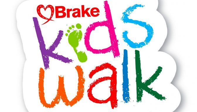 Kids walk logo