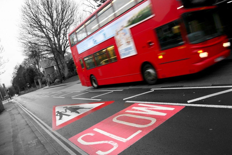 Slow traffic lane