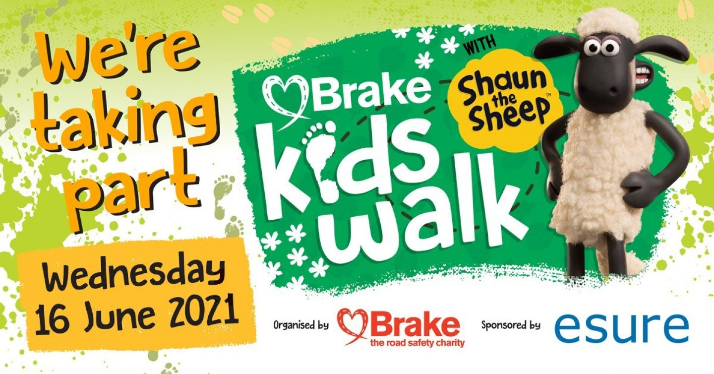 Brakes Kids Walk with Shaun the Sheep 2021 Facebook image