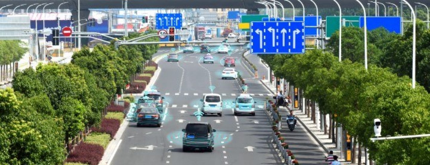 Automated vehicles on a motorway